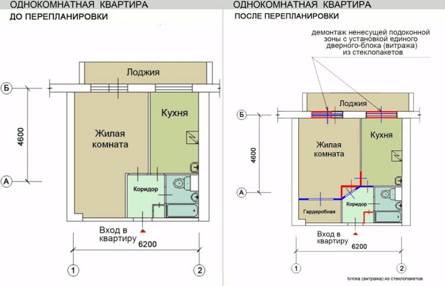 Составить проект перепланировки квартиры - energy.