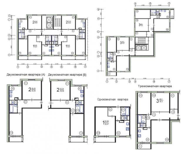 Ремонт квартир в домах серии п-46, перепланировка квартир.
