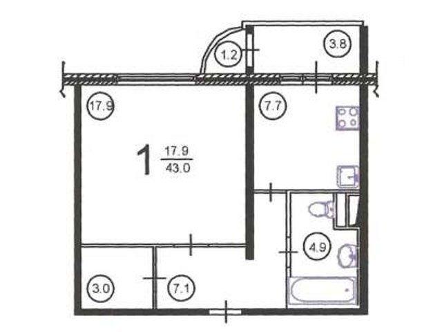 Ремонт квартир в домах серии п-111м, перепланировка квартир.