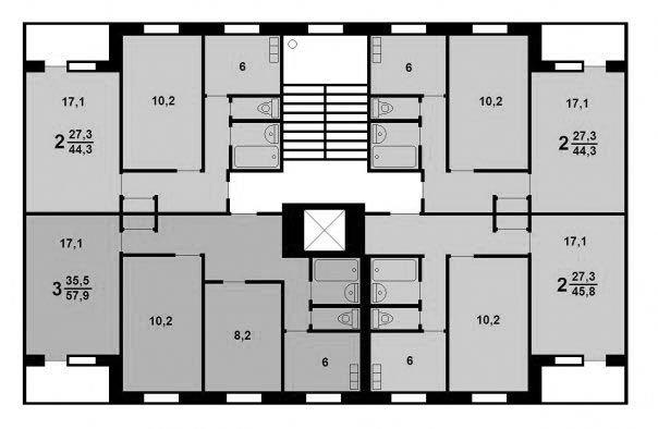 Ремонт квартир в домах серии ii-49, перепланировка квартир.