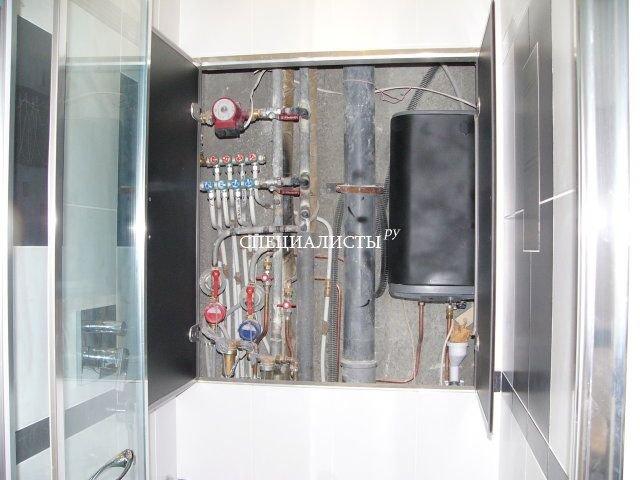 Сантехнический шкаф фото